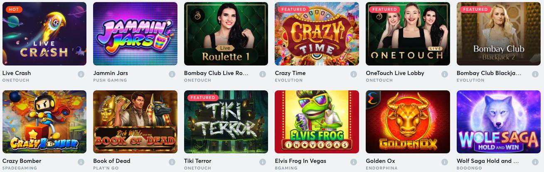 Casino Games All En