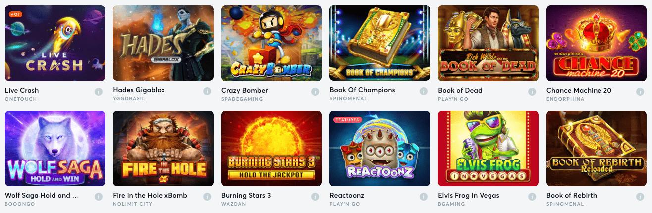 Video Slots En Games